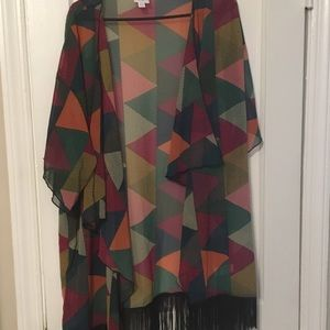 Kimono style top. Fits up to size 20W